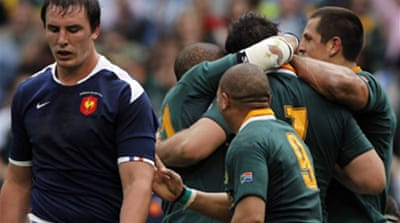 Springboks quietly maul France