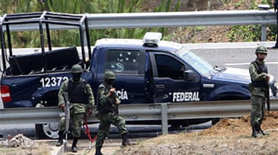 Mexican troops kill drug suspects