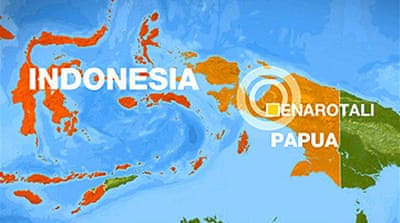 Strong quake hits eastern Indonesia