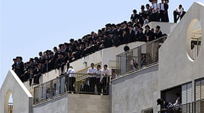 Orthodox Jews rally against verdict
