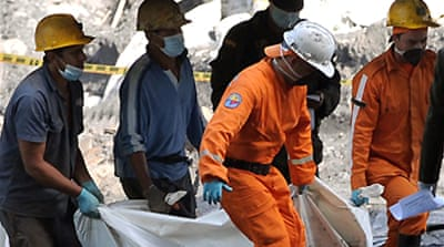 Deaths in Colombia mine explosion