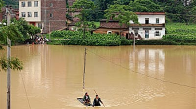 Deadly flooding hits southern China