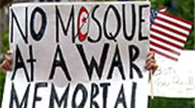 Protests against 9/11 Muslim centre