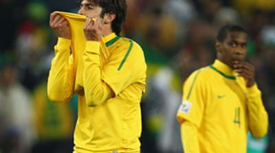 Kaka off as Brazil beat Ivorians