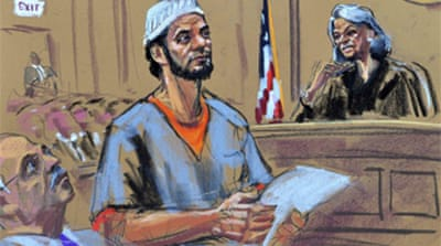 NY bomb suspect pleads guilty