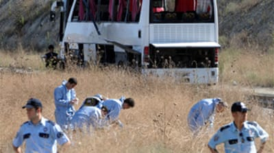 Deaths in Turkish bus bombing