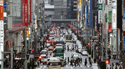 Japan's economic growth slows down