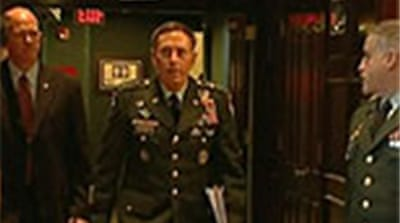Petraeus takes over Afghan mission