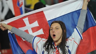 Slovakia send WC holders home