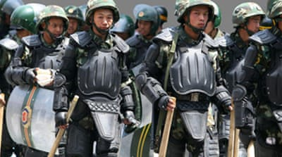China 'arrests Xinjiang plotters'