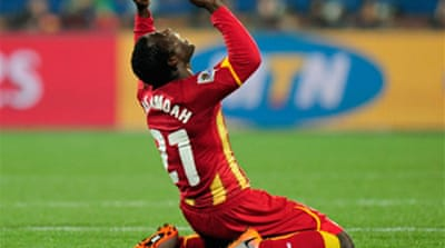 Black Stars beat USA in extra time