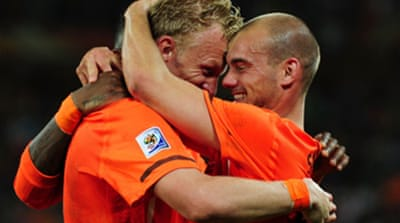 Netherlands end Slovakia run