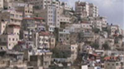 Palestinian homes under threat