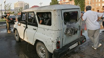 Blast rips through Chechen capital