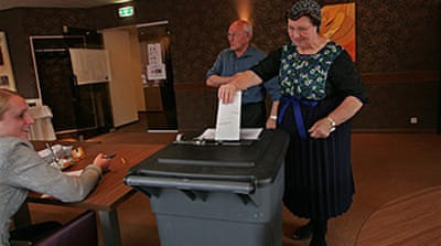 Voting over in Dutch election