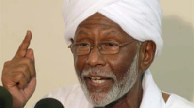 Sudan opposition leader freed
