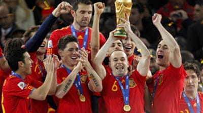 Spain are world football champions