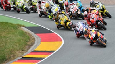 Pedrosa wins German MotoGP