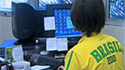 Brazil shuts down for football