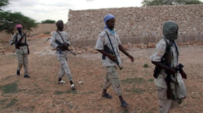 Somali fighters attack capital