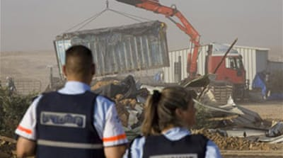 Israel demolishes Bedouin village
