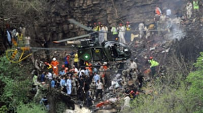 No survivors in Pakistan air crash