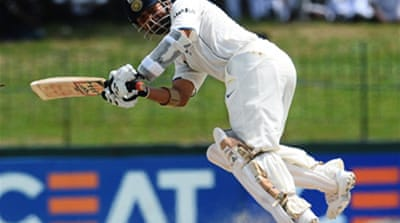 Tendulkar's 200 set to save India