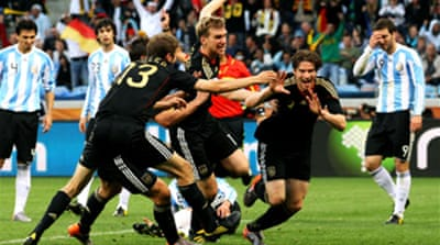 Germany crush Argentina 4-0
