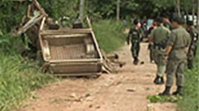 Violence persists in south Thailand