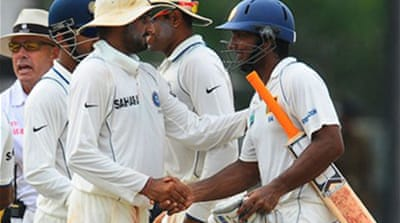 Sri Lanka-India Test ends in draw