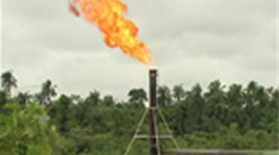 West Africa's gas flaring curse