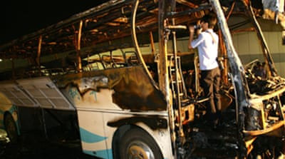 Dozens dead in China bus fire