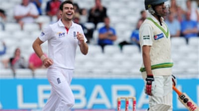 Anderson haul embarrasses Pakistan