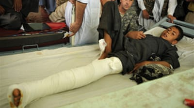 Afghan civilian toll up by a third