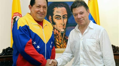Colombia and Venezuela restore ties