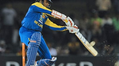 Tharanga guides Sri Lanka to win