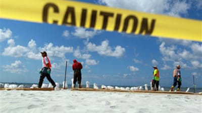 Alabama sues over Gulf oil spill