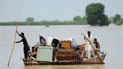 Pakistan's Sindh faces more floods