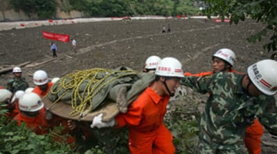 China displaced face harsh winter