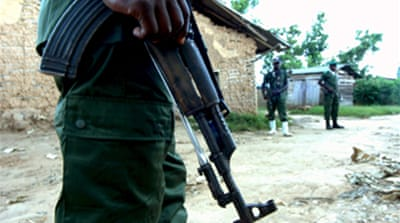 Reports of mass rape by DRC rebels