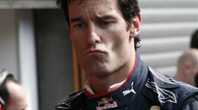 Webber grabs pole for Red Bull