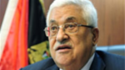Abbas puts onus for talks on Israel