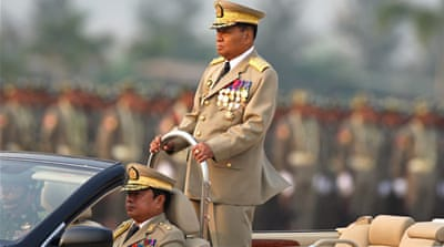 Myanmar ministers 'quit army'