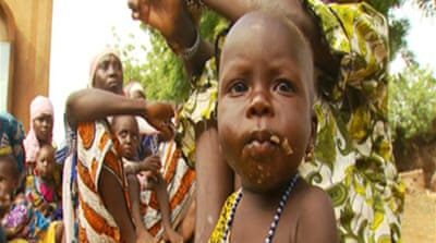 Niger children condemned to hunger