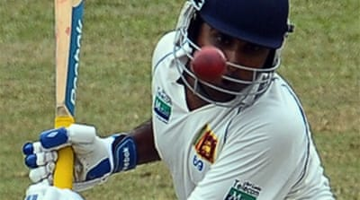 Sri Lanka build solid total