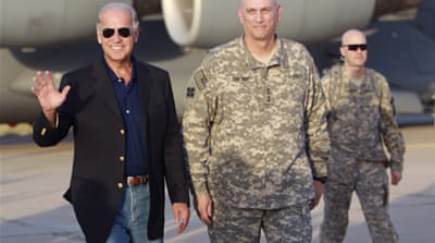 Biden pays surprise visit to Iraq
