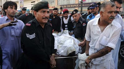 Blast kills Pakistan police chief