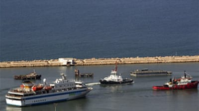 Gaza flotilla returns to Turkey