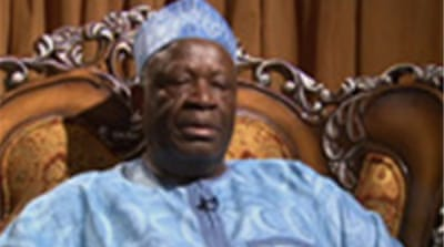 Ibrahim Gambari reacts to Bashir