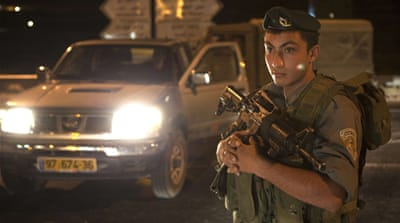 Crackdown after West Bank shooting